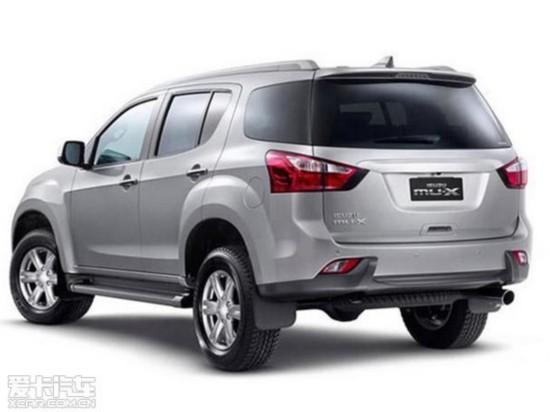 江西五十铃MU-X明年5月上市 预售15万起