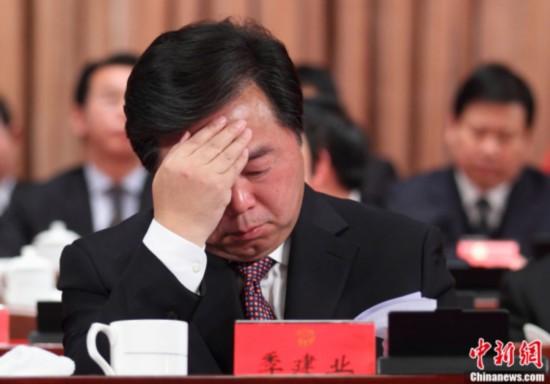 原南京市长季建业案今宣判 涉非法收受财物逾千万