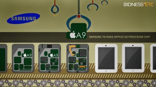 三星将为苹果生产A9芯片(图片来自lockerdome.com)