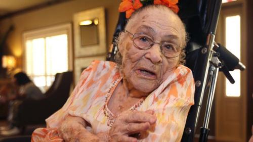 世界最长寿老人去世享年116岁保持纪录5天(图)