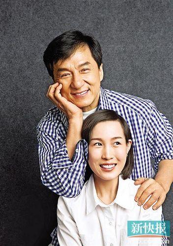 成龙曝与林凤娇已没爱情:曾担心她把我钱骗走(图)