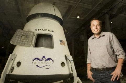 马斯克看到的太空产业链:SpaceX