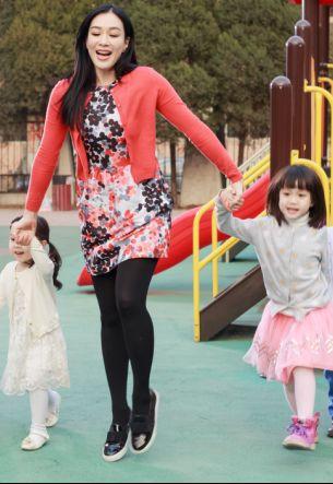 《愛上幼兒園》鐘麗緹和女兒