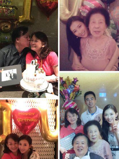 林志玲陪父母過生日全家出鏡被贊顏值都很高