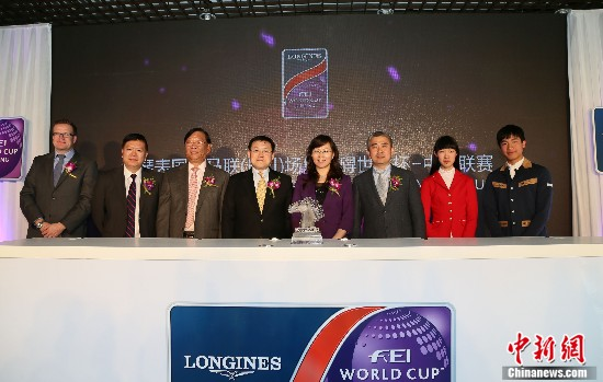 马术世界杯打造顶级盛宴中国骑手未来可期(图)