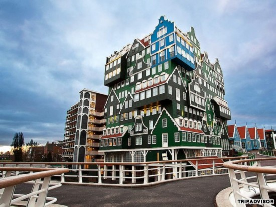 盘点:12家形状别致的特色酒店