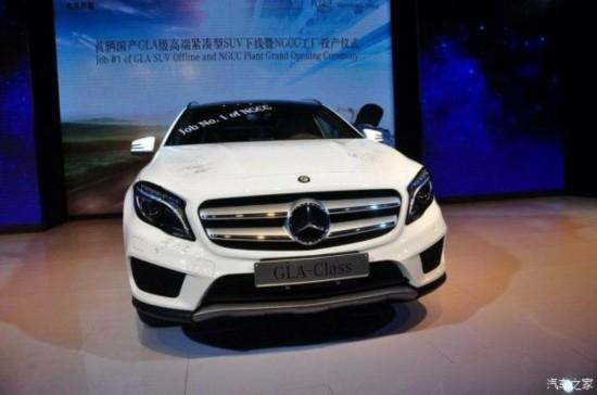 北京奔驰 奔驰GLA级 2014款 基本型