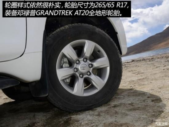 一汽丰田 普拉多 2015款 2.7L 自动豪华版