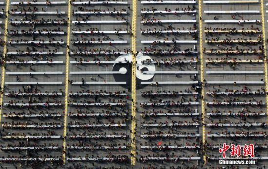 河南18地17000人同时包饺子创吉尼斯世界纪录
