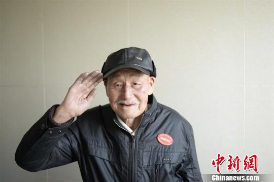 湖北宜昌91岁抗战老兵:若遇外辱还能杀敌(图)