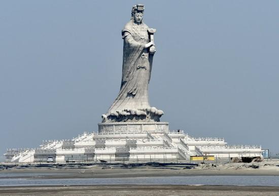 天津妈祖文明园2016年建成 领有全球最高妈祖像