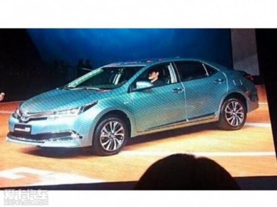 一汽丰田卡罗拉混动消息 有望年中发布