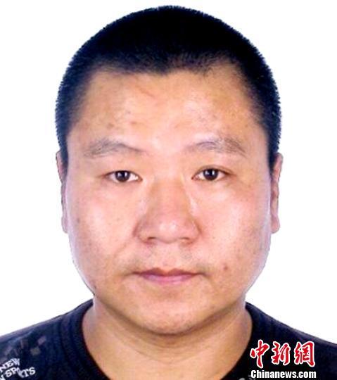 在逃的犯罪嫌疑人米陝杰。 警方提供 攝