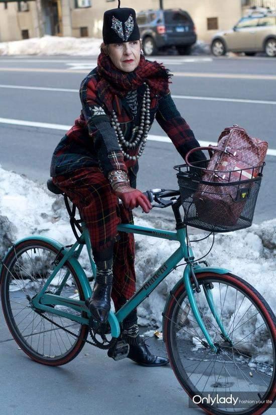 自行车街拍