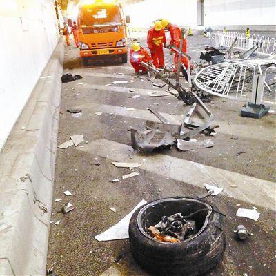 北京鸟巢飙车致隧道损坏 司机须赔30万元(图)