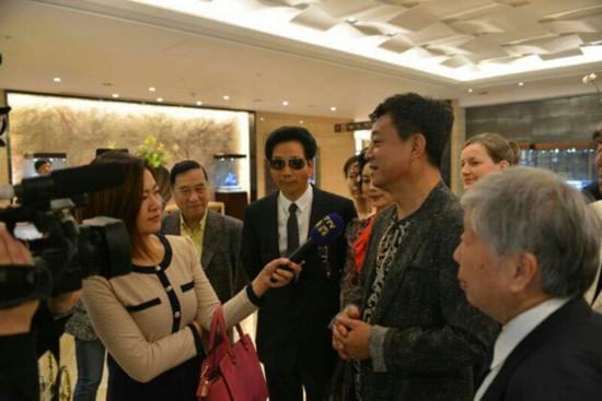 著名央视主持人朱军下榻台北福容大酒店引轰动