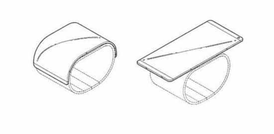 LG新专利:智能手机可直接裹在手腕上