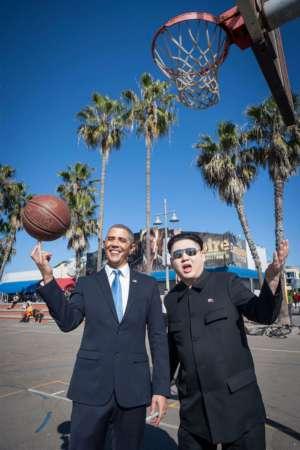 山寨版奥巴马金正恩同游 盘点以假乱真的山寨名人图片
