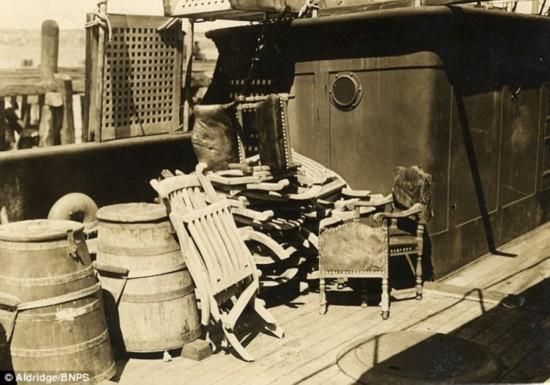 """""""泰坦尼克号""""沉船上躺椅拍得93万元"""