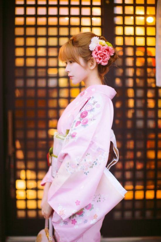 韩国女孩Yurisa颜值爆表 日本组照合集(高清)