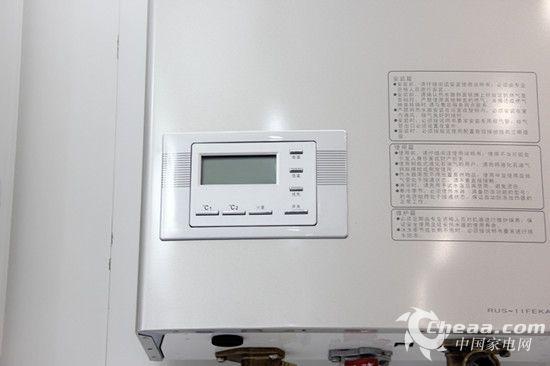林内rus-11feka-b热水器采用先进的恒温系统,采用精密比例阀对燃气图片