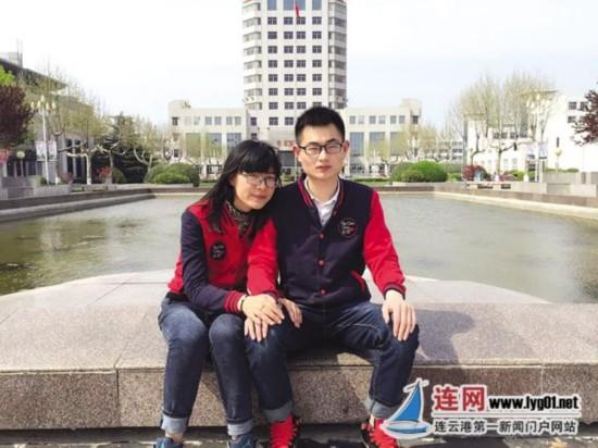 淮工励志情侣:男生国考笔试第一女生通过司法