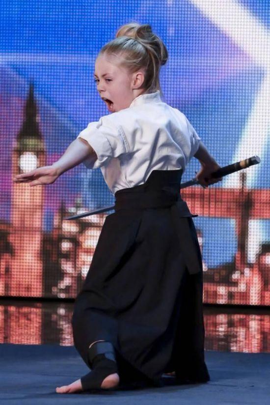 9岁女童武艺惊艳英国达人秀 盘点达人秀上的牛人