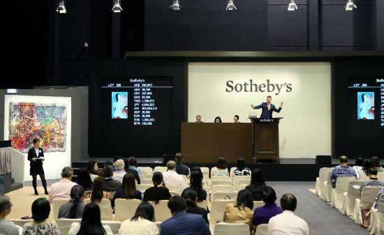 纽约拍卖会中国新买家入市抢货
