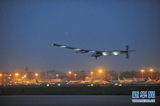 (科技)(4)世界最大太阳能飞机再度启程