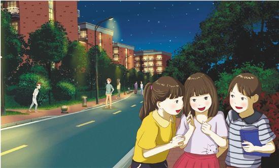 大二女生手绘明信片风靡校园 画风可爱唯美