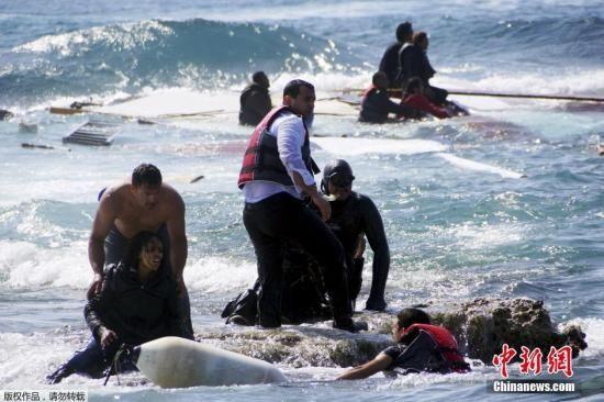 地中海船难致800人死亡非法移民危机愈演愈烈