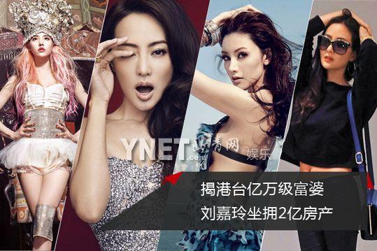 揭港台亿万身价女星:刘嘉玲拥2亿房产