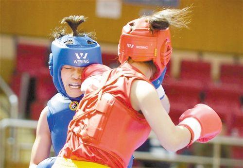 全国武术散打锦标赛在渝举行