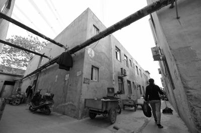 大兴区西红门镇,王某夫妇案发前曾租住在这里(摄于4月22日)。京华时报记者赵思衡摄