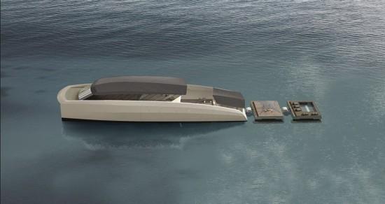 盘点超级富豪的私人游艇 如同漂浮城市(组图)