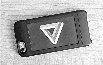 墨水屏保护套让iPhone瞬间变Yotaphone