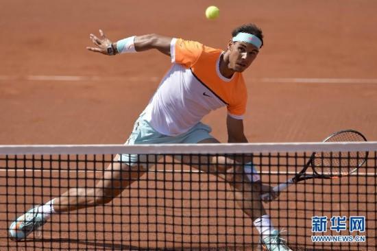 (体育)(2)网球――巴塞罗那公开赛:纳达尔出局