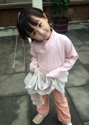 全球最年轻美女 5岁演 芈月传 并拍八支广告