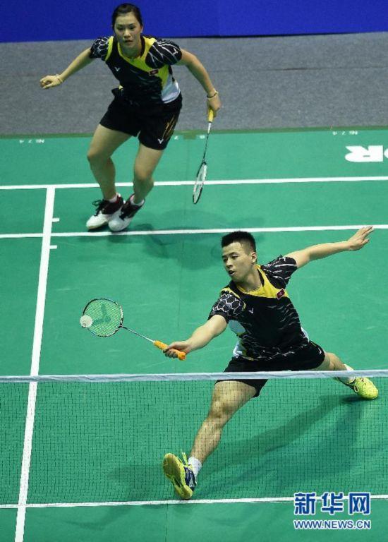 (体育)(3)羽毛球――亚锦赛:李晋熙/周凯华晋级混双决赛