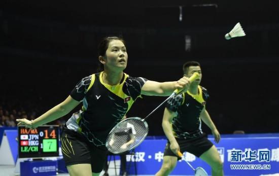 (体育)(2)羽毛球――亚锦赛:李晋熙/周凯华晋级混双决赛