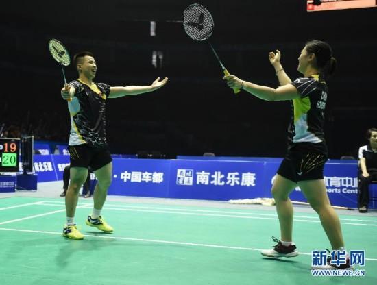 (体育)(1)羽毛球――亚锦赛:李晋熙/周凯华晋级混双决赛