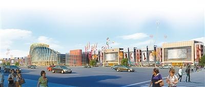 重庆朝天门国际商贸城 将成为一座 智慧商城图片