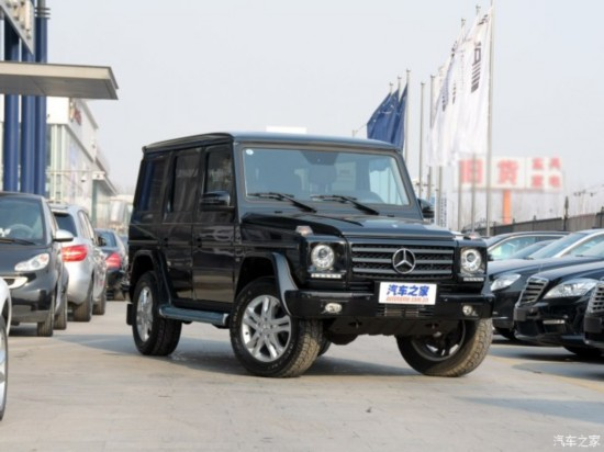 奔驰(进口) 奔驰G级 2013款 G 500