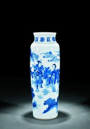 演义之凤仪亭人物故事图筒瓶在嘉德四季第41期暨十周年庆典拍卖会上,以92万元成交。