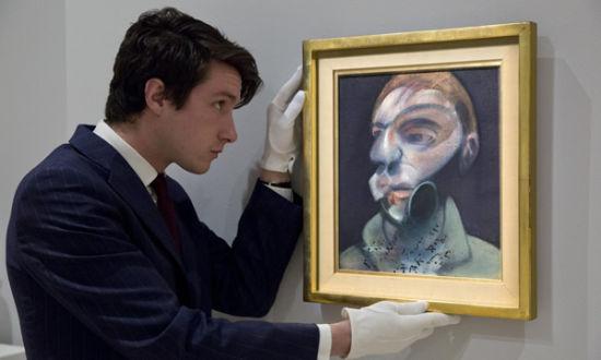 拍品之一:弗朗西斯・培根《自画像》(1975)
