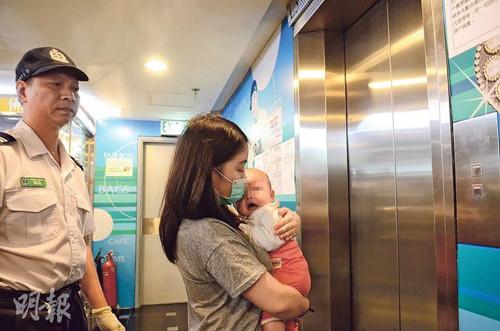 香港一女子弃婴于男友商店双方都不要女儿店员报警