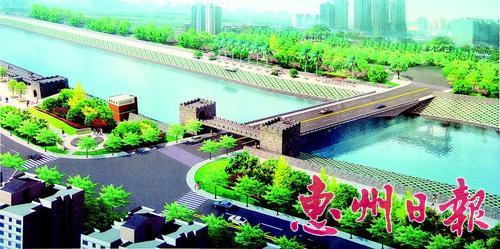 淡水河流域综合整治工程二期将在铁桥段建设仿古堤围。