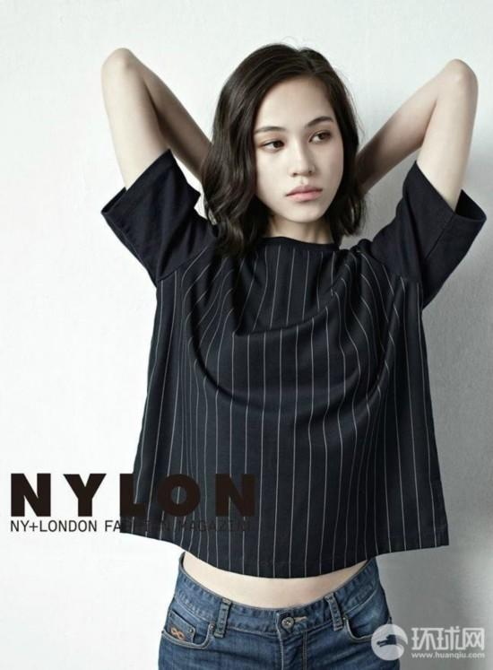 日本当红模特水原希子拍摄韩国版《Nylon》【