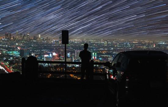 美摄影师拍摄延时短片 都市重现银河之美【2】