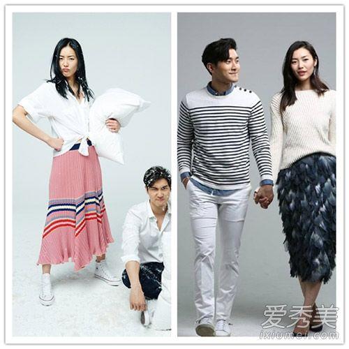 《我们相爱吧》刘雯崔始源情侣装造型 时尚逼人